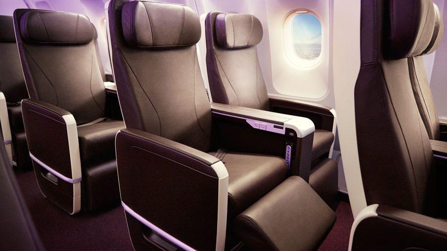 Virgin Atlantic A330-200 Premium Cabin Interior