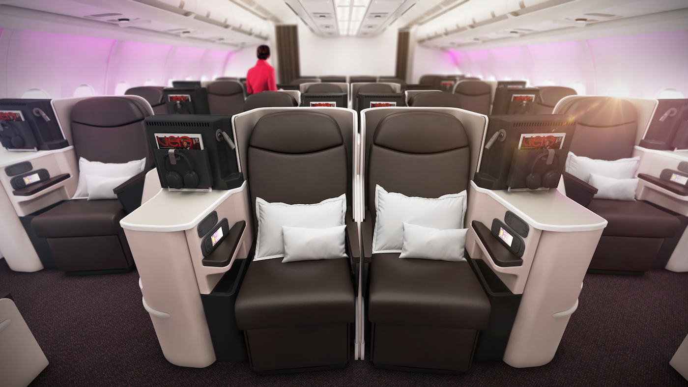 Virgin Atlantic A330-200 Upper Class Interior