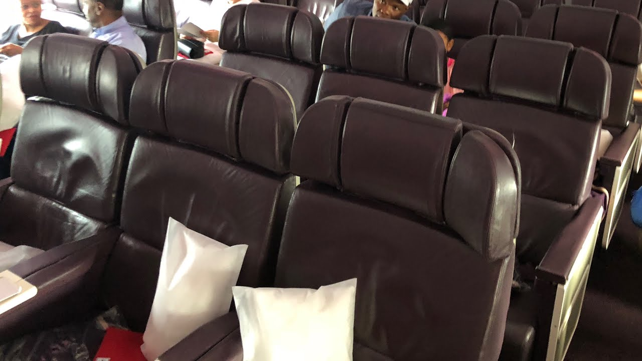 Virgin Atlantic A330-300 Premium Cabin Interior