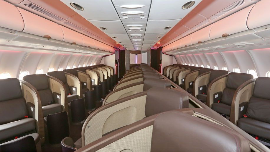 Virgin Atlantic A330-300 Upper Class Interior
