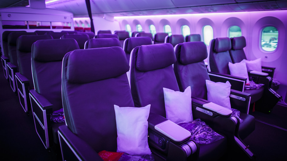Virgin Atlantic 787 Premium Cabin Interior